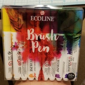 Royal Talens Ecoline Brush Pen Set of 20